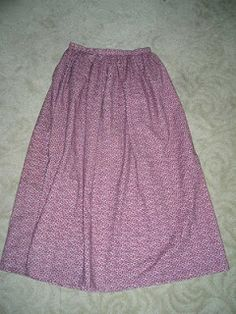 Buns and Baskets: The Not-So-Pioneer Skirt Tutorial---- with this much fabric, the waistband is a better idea than elastic