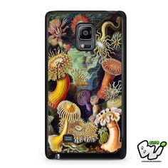 Sea Anemone Painting Samsung Galaxy Note Edge Case