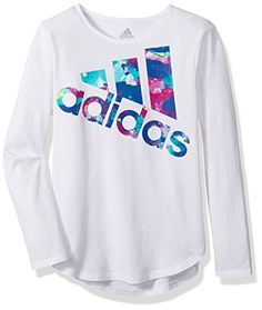 69fb4545b adidas Kids - Long Sleeve All Star Tee Girl s Long Sleeve Pullover