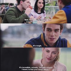 iverdaleworld I want to be well, I'm lucky to even feel...  #Riverdale