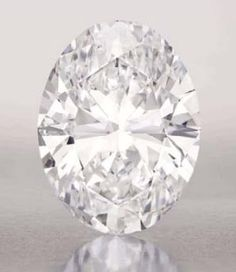 Sotheby's to offer 118.28 carat oval diamond at Hong Kong auction