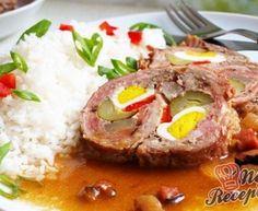 Beskydský závitek s rýži Pork Tenderloin Recipes, Pork Recipes, Cooking Recipes, Czech Recipes, Ethnic Recipes, Pork Meat, Food 52, Main Meals, Food Inspiration