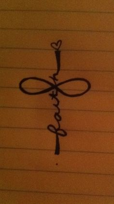 Download Free faith and cross tattoo | tatssss | Pinterest to use and take to your artist.