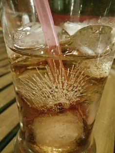 The fun of ice in an iced tea. #drinks #photooftheday #photography #oneplus #cellphonephotography #nofilter