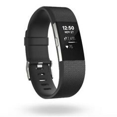 Shop Fitbit Charge 2 heart rate + fitness wristband from the official Fitbit Store. PurePulse continuous heart rate, Connected GPS, multi-sport modes, guided breathing sessions & more. Fitness Armband, Fitness Wristband, Fitbit Wristband, Fitbit Bands, Fitness Bracelet, Band Workout, Track Workout, Workout Gear, Fitness Gifts