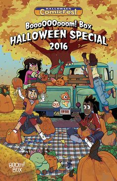It's time to get your scare on for Halloween with this selection of spooky tales taken from several of our BOOM! Box titles, including Lumberjanes, Giant Days, and The Backstagers, perfect for any trick-or-treater!