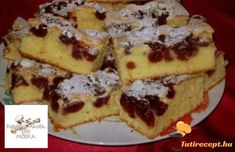 Hungarian Desserts, Hungarian Recipes, Bourbon Cake, Individual Desserts, Eat Seasonal, Baking And Pastry, Sweet Bread, No Bake Desserts, Let Them Eat Cake