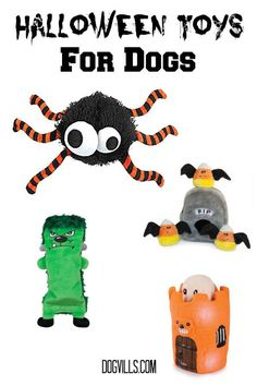 Give your pooch one of these fun Halloween toys for dogs as a treat and maybe he'll show off a few new tricks!