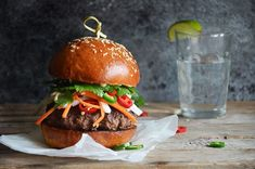 Kublanka vaří doma - Banh mi burger