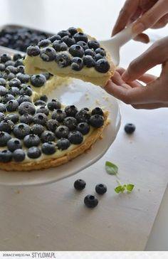 Skład: ciasto: 150g mąki pszennej, 120g margaryny,… na Stylowi.pl
