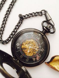 Mechanical Pocket Watch Pattern watch cover by Victorianstudio, $42.98