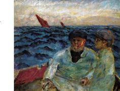 Bonnard, Fishermen in the boat, 1907, Lucerne, Switzerland