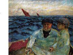 Bonnard, Fishermen in the boat, 1907, Lucerne, Switzerland