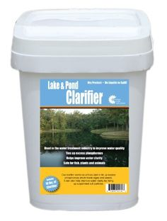 Outdoor Water Solutions PSP0134 Lake and Pond Water Clarifier by Outdoor Water Solutions. $58.52. Easy to use dry product, no liquids to spill. All natural solution to help keep your pond clean and healthy. PSP0134. Helps clean up murky water and improves water clarity. A non-toxic granular product commonly used in the water treatment industry to improve water clarity. It also reduces the amount of phosphorous in the water and helps clean up murky pond water. Made in U.S.A.