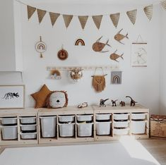 Baby Bedroom, Baby Room Decor, Girls Bedroom, Bedroom Decor, Childrens Room, Ideas Habitaciones, Playroom Furniture, Playroom Organization, Toy Rooms