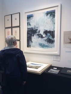 Sufflo on display at the IFPDA Print Fair New York, in It's a carborundum print on Somerset paper. Edition of Somerset, Fine Art Prints, York, Display, Paper, Frame, Decor, Floor Space, Picture Frame