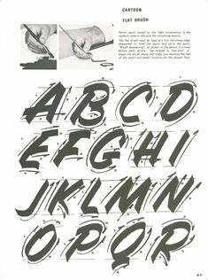 Lettering by Al MackYou can find Sign painting and more on our website.Lettering by Al Mack Types Of Lettering, Lettering Styles, Brush Lettering, Lettering Design, Design Alphabet, Hand Lettering Alphabet, Graffiti Lettering, Creative Lettering, Chalk Typography