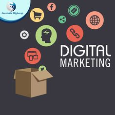Digital marketing – The best way to reach your #customers We make your business, a big brand by Digital Marketing view more at www.seoindiahigherup.com