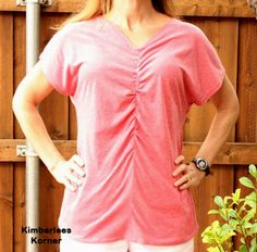 Sewing Ruched Front Top Sewing Ideas, Sewing Projects, Sewing Lessons, Refashioning, Diy Stuff, Repurposing, My Wardrobe, Upcycle, Men Casual