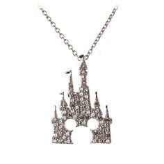 Mickey Mouse Castle Halskette von Rebecca Hook - Silber Source by valeriaarruelas Disney Necklace, Disney Jewelry, Necklace Box, Jewelry Necklaces, Earrings, Disneyland, I Love Jewelry, Jewelry Design, Music Jewelry