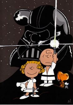 PEANUTS STAR WARS #Snoopy #StarWars