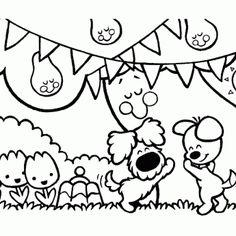 Legendary Coloring web page Print Woezel and Pip - Coloring Pages - Friseur Engin KILIC Coloring Books, Coloring Pages, Colouring, Diy And Crafts, Crafts For Kids, Get The Party Started, Good Company, 2nd Birthday, Embroidery Patterns