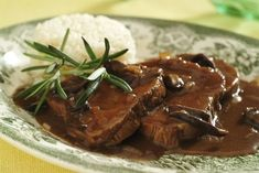 Meat Recipes, Recipies, Czech Recipes, Stew, Breakfast, Image, Per Diem, Fine Dining, Koken