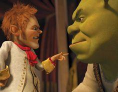 Rumpelstiltskin The King Of Far Far Away Lays Down The Law Of The Land For R Shrek Shrek Forever After 2010 Shrek Gingerbread Man Shrek Rumpelstiltskin