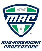 The Miami University Women's track and field team is a part of the Mid-American Conference for college sports. This is the logo for the Mid-American Conference. Eastern Michigan University, University Of Miami, Football Odds, College Football, American Conference, Conference Logo, Football Officials, Football Predictions, Volleyball Team