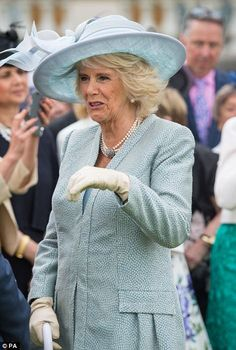 23rd May 2017: The Duke and Duchess of Cornwall joined The Queen and the Duke of Edinburgh at a garden party in the grounds of Buckingham Palace. Princess Eudenie also attended. A minutes silence was held to remember and honour those who were injured and died in the Manchester terror attacks.