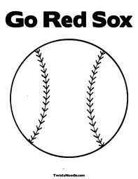 1000 images about baseball 4 kids on pinterest baseball for Red sox coloring pages
