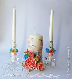 Яркий и сочный комплект для зимней свадьбы фото 6