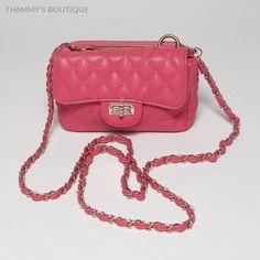Popular Women Style Purse Quilted Leather Handbag Trendy Fashion Ladies Bag  #ThammysBoutique #EveningBagCrossBody