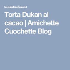 Torta Dukan al cacao | Amichette Cuochette Blog