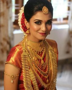 Jukrith's - The Best Bridal Makeup Artist in Chennai Kerala Bride, Hindu Bride, South Indian Bride, Indian Bridal Outfits, Indian Bridal Fashion, Indian Bridal Wear, Indian Wear, Best Bridal Makeup, Bridal Beauty