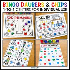Feeling uneasy about prepping for next year? Whether you are in the classroom or are teaching virtually, these 1:1 Counters Centers will come in handy! Each student will have his/her set of counters and mats, and they are good to go! No cutting sets of games/centers for each student! Engage your students at school and/or at home with our 1:1 centers!
