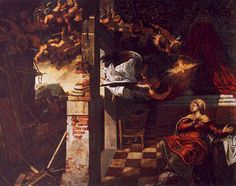 Tintoretto, 'The Annunciation'