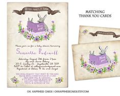 Storybook Shower Invitation-Once Upon a Time by OhHappinessCards