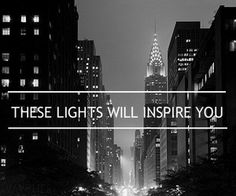 #NewYorkCity inspires with everything. Empire State of Mind!