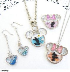 Mickey and Minnie resin bezels