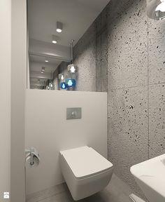 WC w stylu minimalistycznym w apartamencie w Tomaszowie Mazowieckim - zdjęcie od design me too - Łazienka - Styl Minimalistyczny - design me too