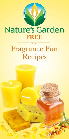 Free Fragrance Fun Recipes from Natures Garden. Free recipes for making bath products, scented markers.  #fragrance