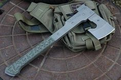 Great axe design - not so nice finish and style..