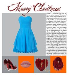 """""""Merry Christmas!"""" by huldinhared on Polyvore featuring beleza, Lime Crime, Christian Louboutin, Yves Saint Laurent e BP."""