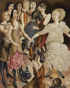 """Stanley Spencer """"Worship"""", no date Stanley Spencer, Duncan Grant, Abstract Drawings, Abstract Paintings, Art Eras, Social Realism, Group Art, Religious Images, Art Deco Era"""