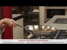 Learn To Cook: How To Do The Saute Snap - YouTube