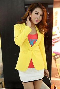deee5812bbd New Women Blazer Spring Slim Top Elegant Double Breasted Short Design  Clothes Blazer Suit Female Suit. Female suitsPlus Size ...