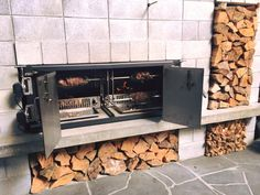 Engel Fires Crowd Pleaser - double the capacity Wood Fired Oven, Wood Fired Pizza, Outdoor Fire, Outdoor Decor, Firewood, Crowd, Bbq, Home Decor, Wood Burning Oven