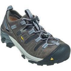 Daily Recommend - Keen Footwear Mens Grey 1006979 Steel Toe ESD Slip-Resistant Work Shoes