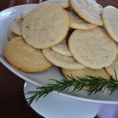 Nothing compares to the aroma of fresh baked cookies coming from the kitchen, especially one of my favorites - Rosemary Cookies. Yum! Visit my website for the recipe. #sharethebounty #joy #delicious #cookies #treat #mossmountainfarm #comeseeus #recipe